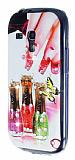Samsung i8190 Galaxy S3 mini Ta�l� Oje Silikon K�l�f