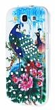 Samsung Galaxy S3 / S3 Neo Ta�l� Tavusku�u Silikon K�l�f