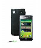 Samsung i9000 Galaxy S Siyah Delikli K�l�f