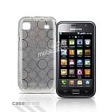 Samsung i9000 Galaxy S Beyaz Silikon K�l�f