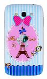 Samsung i9082 Galaxy Grand / i9060 Grand Neo Lovely Paris Ta�l� Rubber K�l�f