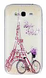 Samsung i9082 Galaxy Grand / i9060 Grand Neo Bonjour Paris Ta�l� Rubber K�l�f