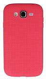 Samsung i9082 Galaxy Grand / i9060 Grand Neo Nokta Desenli Pembe Silikon K�l�f