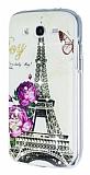 Samsung i9082 Galaxy Grand / i9060 Grand Neo Ta�l� Eiffel Kulesi Silikon K�l�f