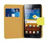 Samsung i9100 Galaxy S 2 Sar� Yan C�zdanl� K�l�f