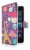 Samsung i9100 Galaxy S2 Paris C�zdanl� Yan Kapakl� K�l�f
