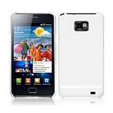 Samsung i9100 Galaxy S2 Beyaz Sert Parlak K�l�f