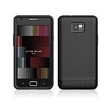 Samsung i9100 Galaxy S2 Ultra �nce �effaf Siyah K�l�f