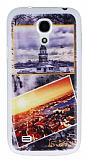 Samsung i9190 Galaxy S4 mini İstanbul Kartpostal Ultra İnce Silikon Kılıf