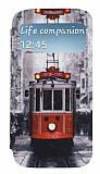 Samsung i9500 Galaxy S4 Pencereli �nce Kapakl� T�nel K�l�f
