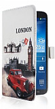 Samsung i9200 Galaxy Mega 6.3 London C�zdanl� K�l�f