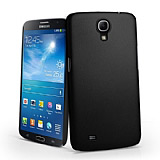 Samsung i9200 Galaxy Mega 6.3 Sert Mat Siyah Rubber K�l�f