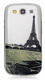 Samsung i9300 Galaxy S3 Eiffel Ultra �nce Silikon K�l�f