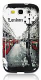 Samsung Galaxy S3 / S3 Neo London Street Silikon K�l�f