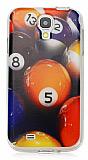 Samsung i9500 Galaxy S4 Bilardo Topu Silikon K�l�f