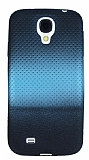 Samsung i9500 Galaxy S4 Mavi Noktal� Ultra �nce Siyah Silikon K�l�f