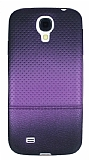 Samsung i9500 Galaxy S4 Mor Noktal� Ultra �nce Siyah Silikon K�l�f