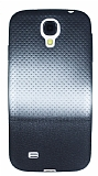 Samsung i9500 Galaxy S4 Silver Noktal� Ultra �nce Siyah Silikon K�l�f