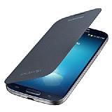 Samsung i9500 Galaxy S4 Orjinal Siyah Flip Cover