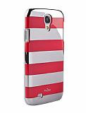 Puro Samsung i9500 Galaxy S4 Kırmızı Kılıf