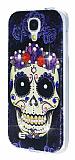 Samsung i9500 Galaxy S4 Ta�l� Kurukafa Silikon K�l�f