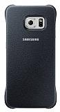 Samsung Galaxy S6 Edge Orjinal Siyah Rubber K�l�f