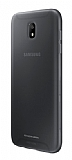 Samsung Jelly Cover Galaxy J7 Pro 2017 Orjinal Şeffaf Siyah Silikon Kılıf