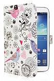 Samsung N5100 Galaxy Note 8.0 Bird Standlı Yan Kapaklı Deri Kılıf
