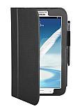 Samsung N5100 Galaxy Note 8.0 Standlı Siyah Deri Kılıf