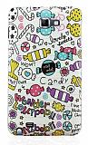 Samsung N7000 Galaxy Note Candy Sert Parlak Rubber K�l�f