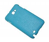 Samsung N7000 Galaxy Note Mavi Deri Arka Kapak