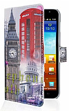Samsung N7000 Galaxy Note London Standl� C�zdanl� Deri K�l�f