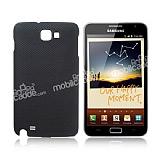 Samsung N7000 Galaxy Note Nokta Desenli Siyah K�l�f