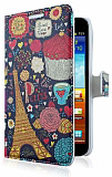 Samsung N7000 Galaxy Note Paris C�zdanl� Yan Kapakl� K�l�f