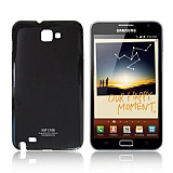 Samsung N7000 Galaxy Note Siyah Sert Parlak K�l�f