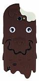 Samsung N7100 Galaxy Note 2 �ikolatal� Eriyen Dondurma Silikon K�l�f