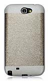 Samsung N7100 Galaxy Note 2 Gold Silikon K�l�f