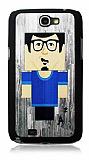 Samsung N7100 Galaxy Note 2 G�zl�kl� Adam Rubber K�l�f