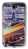 Samsung N7100 Galaxy Note 2 �stanbul Kartpostal Ultra �nce Silikon K�l�f