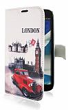 Samsung N7100 Galaxy Note 2 London Cüzdanlı Deri Kılıf