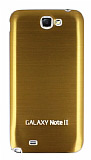 Samsung N7100 Galaxy Note 2 Gold Metal Batarya Kapa��