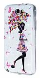 Samsung N7100 Galaxy Note 2 Ta�l� �emsiye Silikon K�l�f