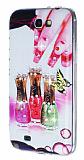 Samsung N7100 Galaxy Note 2 Ta�l� Oje Silikon K�l�f