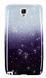 Samsung N7500 Galaxy Note 3 Neo Simli Siyah Silikon Kılıf