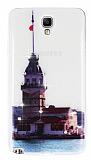 Samsung N7500 Galaxy Note 3 Neo Ta�l� K�z Kulesi Ultra �nce Silikon K�l�f