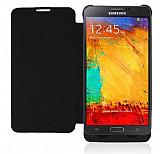 Samsung N9000 Galaxy Note 3 Bataryalı Kapaklı Siyah Kılıf