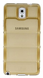 Samsung N9000 Galaxy Note 3 Bubble �effaf Gold Silikon K�l�f