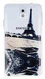 Samsung N9000 Galaxy Note 3 Eiffel Ultra �nce Silikon K�l�f