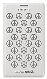 Samsung N9000 Galaxy Note 3 Moschino Peace Flip Wallet K�l�f