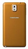 Samsung N9000 Galaxy Note 3 Orjinal Kahverengi Batarya Kapağı